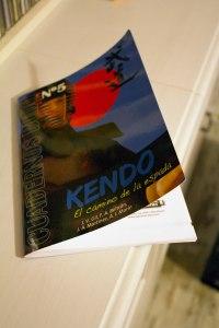 Portada del libro Kendo, el camino de la espada, de Jose Vicente Gil, editorial Alas 2012